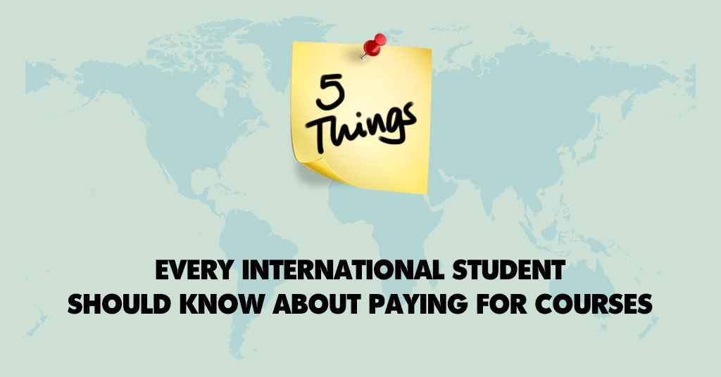 Paying of Course Fee Internationally