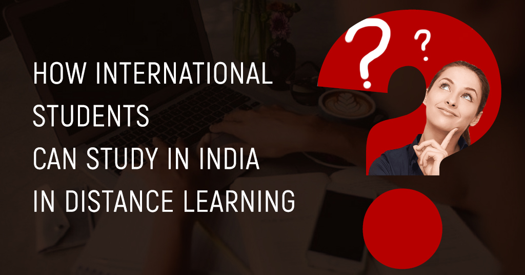 Study in India through Distance Learning